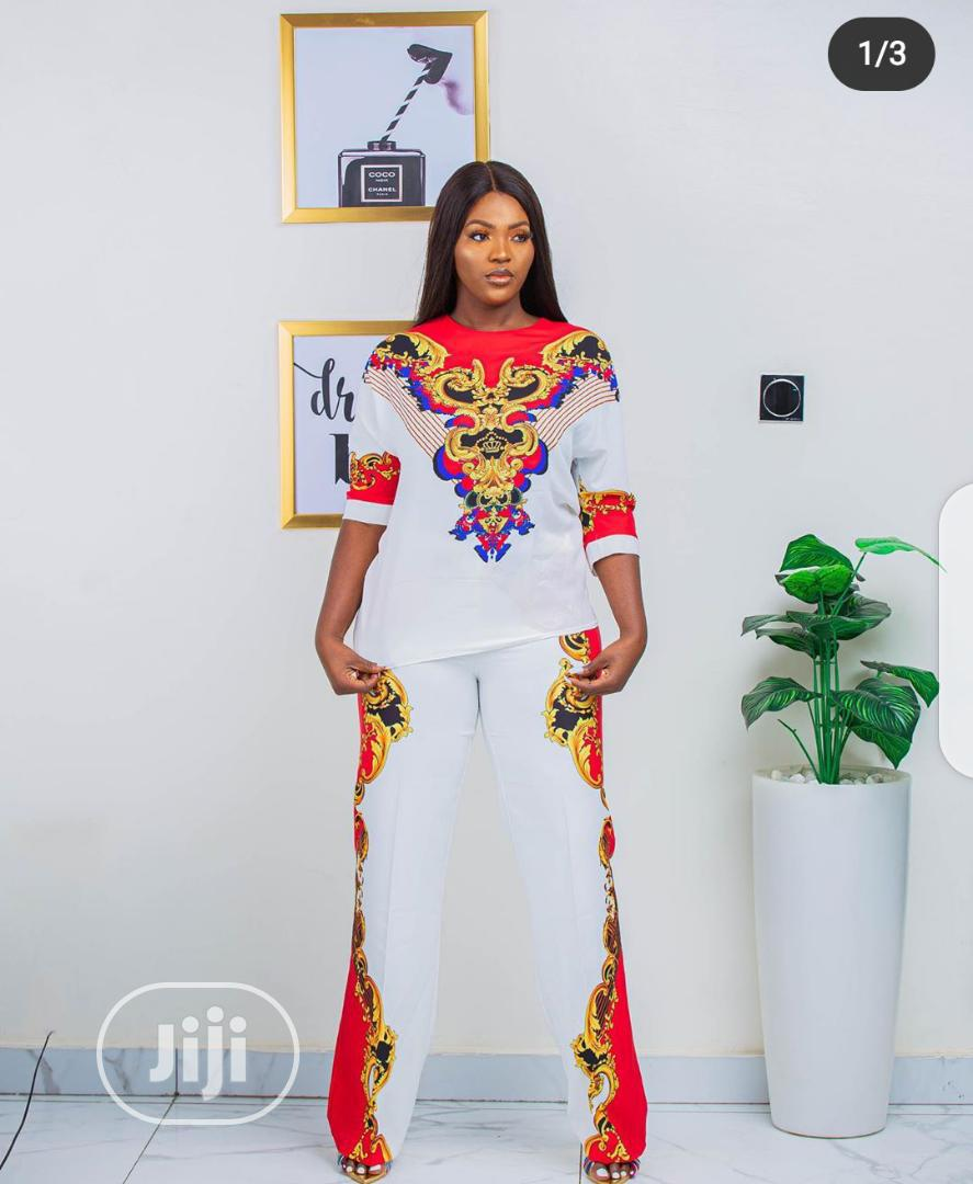 Ladies New Quality Female Fine Top and Trouser . | Clothing for sale in Isolo, Lagos State, Nigeria
