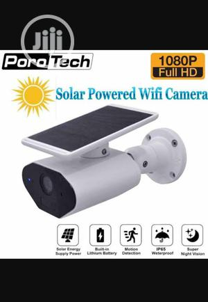 Solar Powered IP Camera for Smartphone Remote View | Security & Surveillance for sale in Lagos State, Ojo