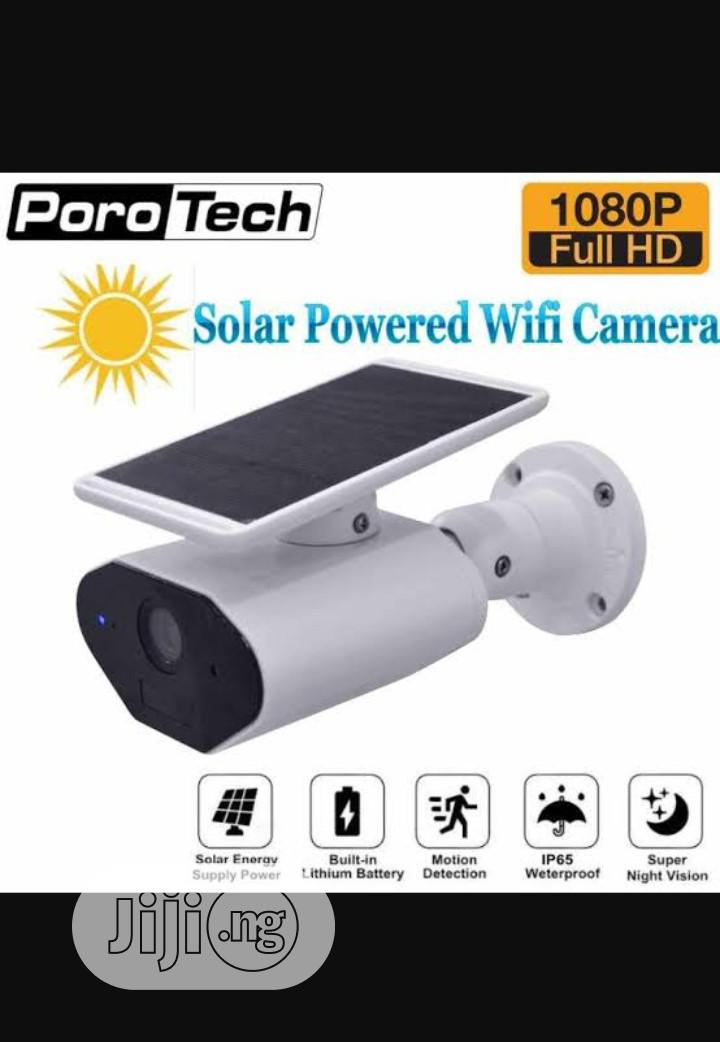 Solar Powered IP Camera For Smartphone Remote View
