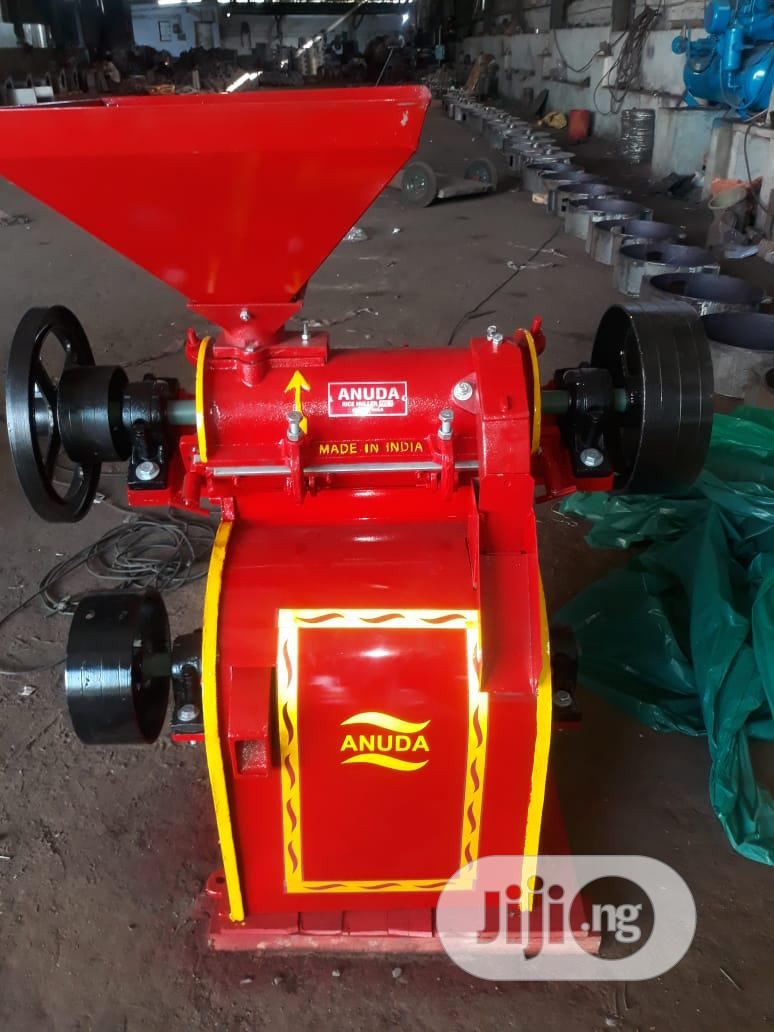 Indian Rice Huller With Polisher