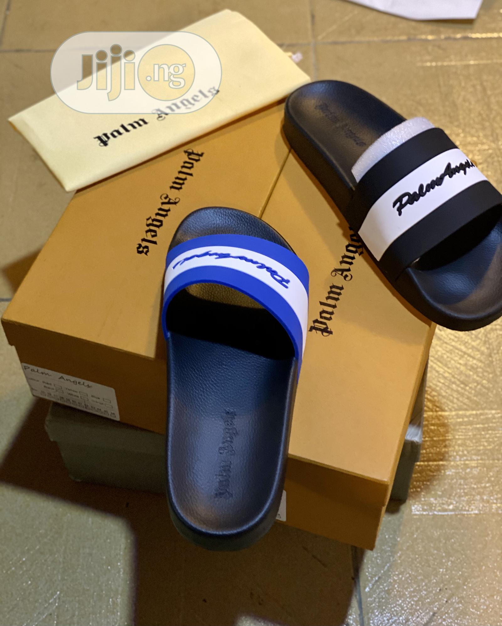 Original Palm Angel Slides With Box. | Shoes for sale in Alimosho, Lagos State, Nigeria
