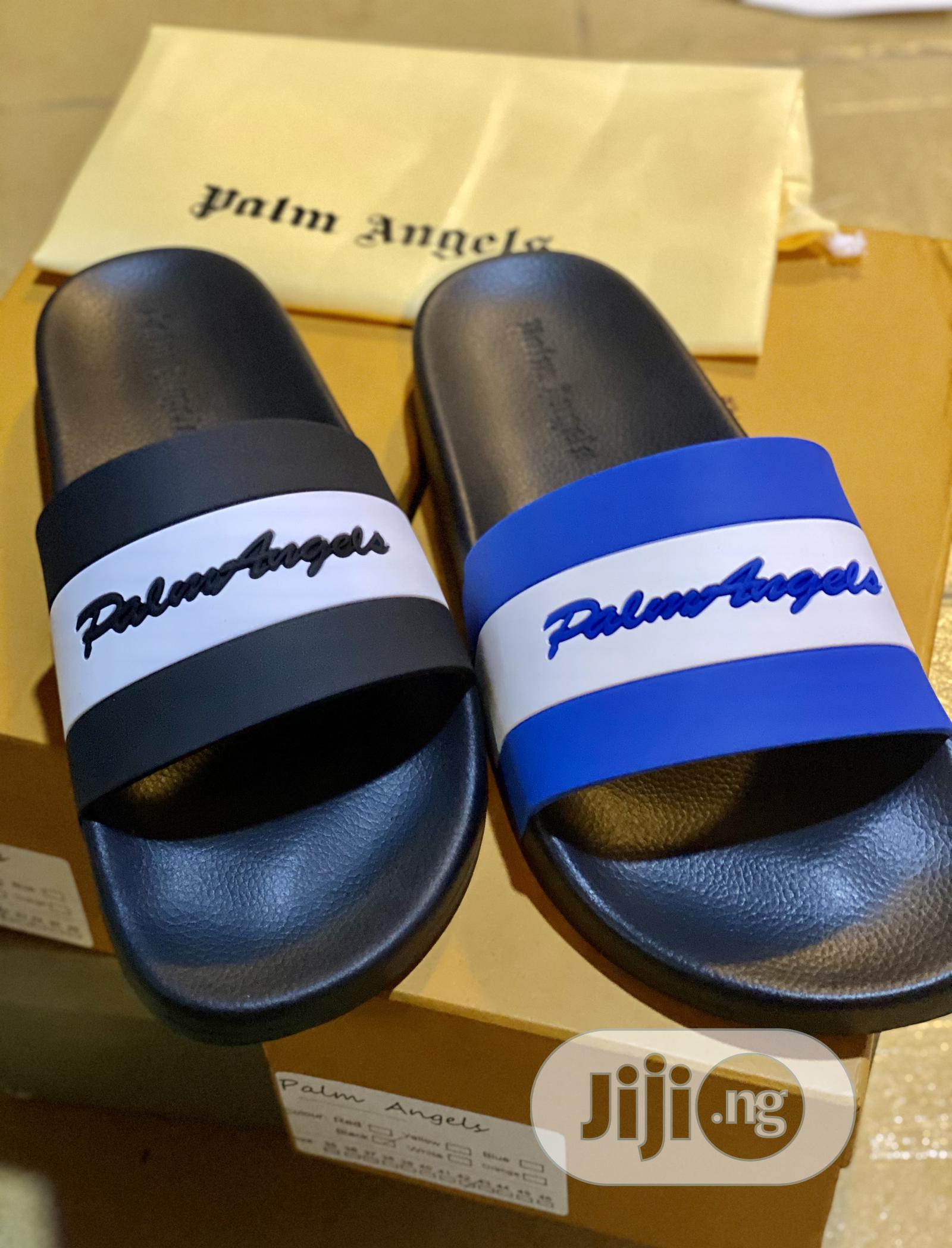 Original Palm Angel Slides With Box.