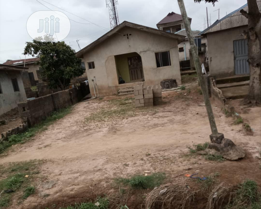 A 3 Bedroom Bungalow On A Half Plot At Amikanle, Command