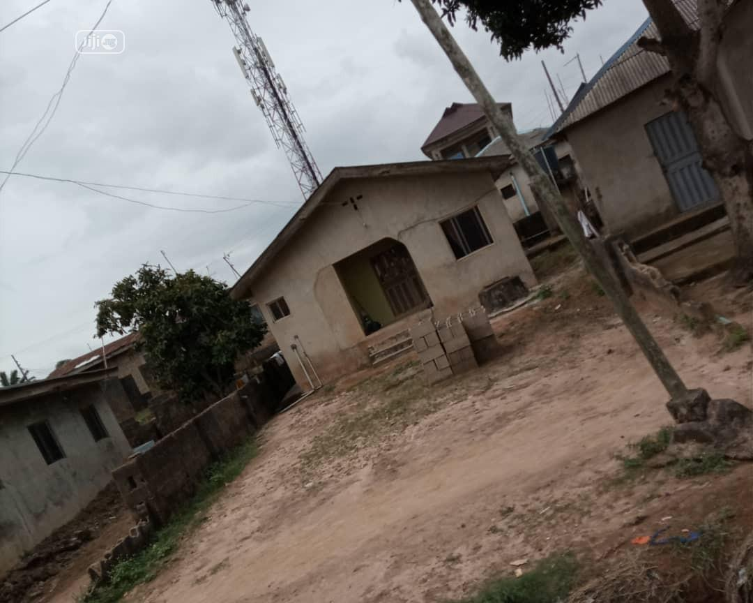 A 3 Bedroom Bungalow On A Half Plot At Amikanle, Command   Houses & Apartments For Sale for sale in Alagbado, Ifako-Ijaiye, Nigeria