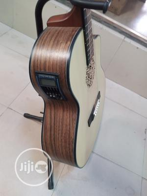 Professional Tayste Semi-acoustic Guitar | Musical Instruments & Gear for sale in Lagos State, Ikeja