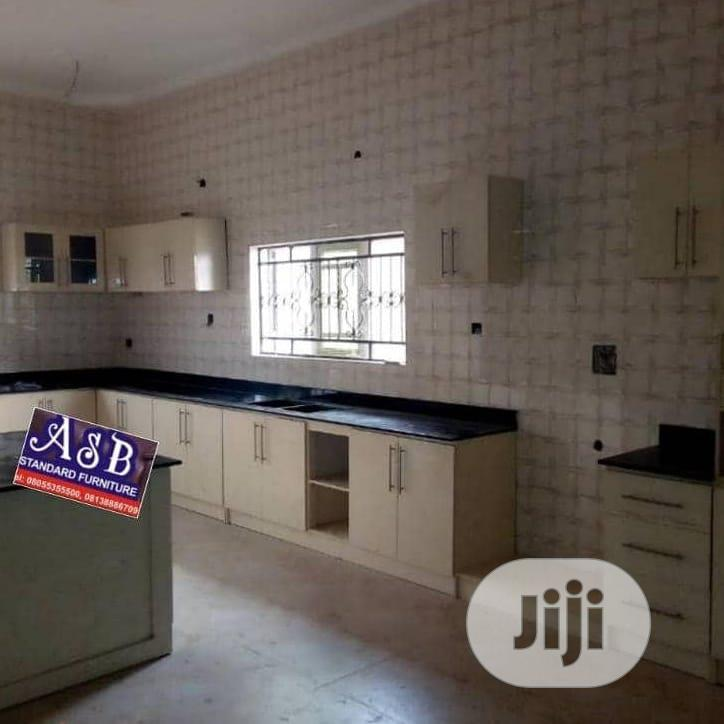 Modern Kitchen Cabinet With Marble Top | Furniture for sale in Ibadan, Oyo State, Nigeria