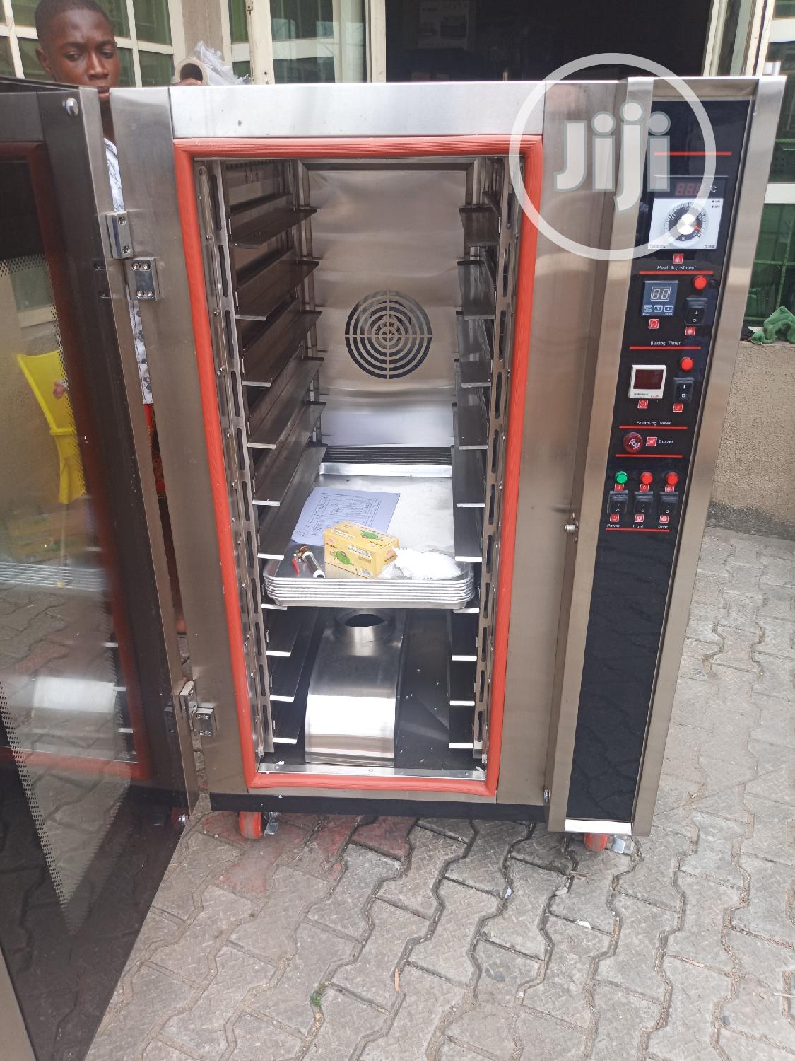 10trays Gas Convection Oven