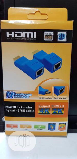 HDMI EXTENDER By Cat6/6e 30meters | Computer Accessories  for sale in Lagos State, Ikeja