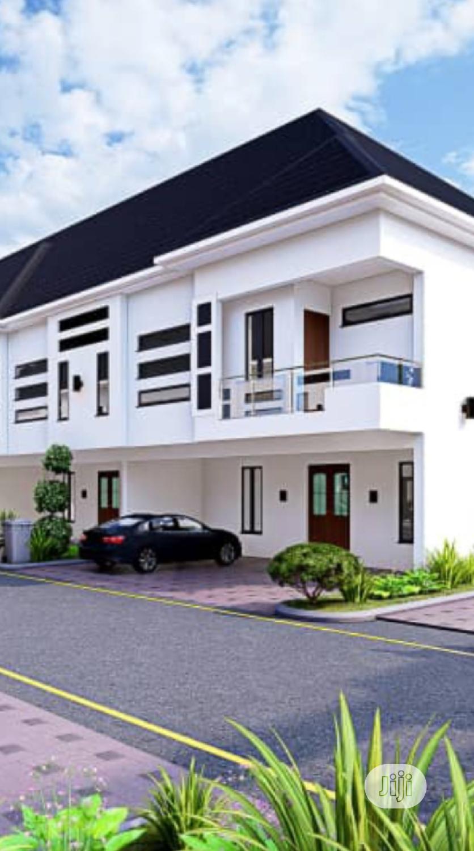 A Standard 4bed Terrace Duplex Just 7.5 Initial Deposit