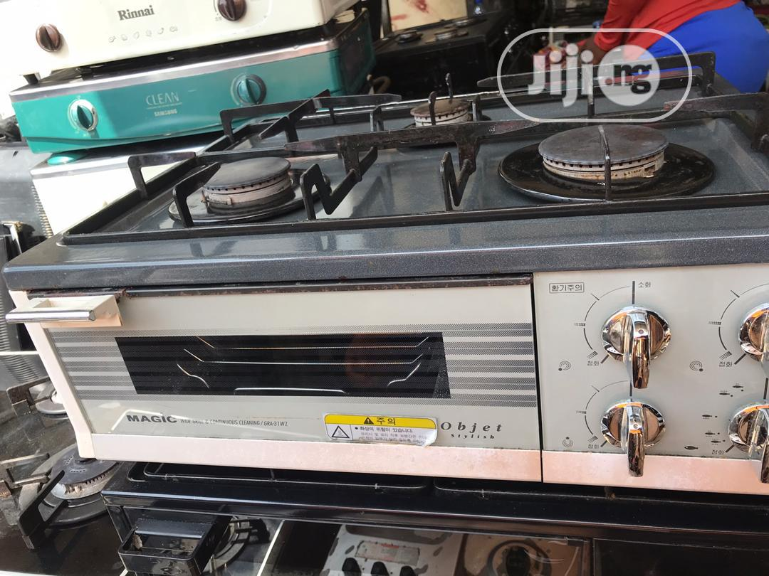 Archive: Table Top Gas Cooker With Oven UK Used