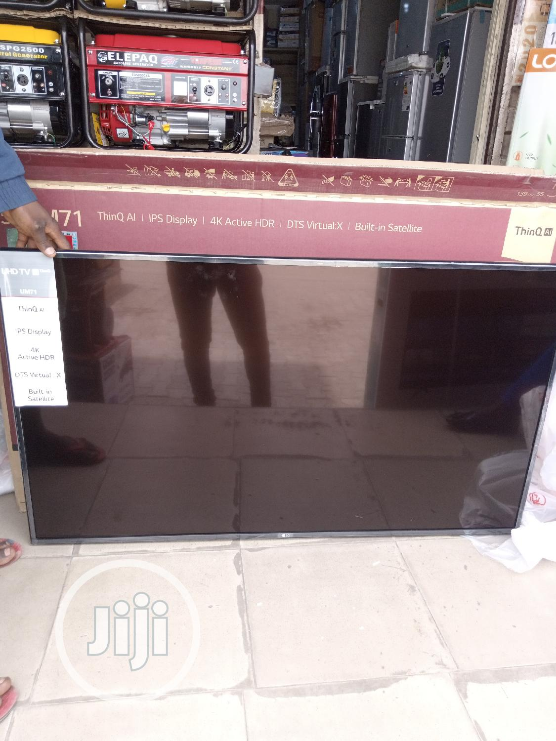 LG 55 Inches TV | TV & DVD Equipment for sale in Yaba, Lagos State, Nigeria