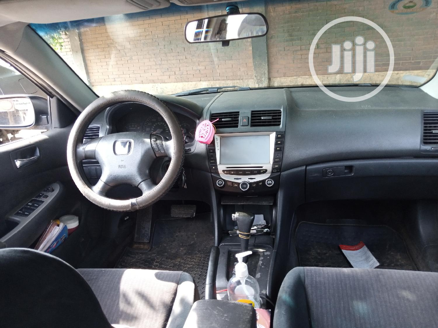 Honda Accord Automatic 2004 Gray | Cars for sale in Ikeja, Lagos State, Nigeria