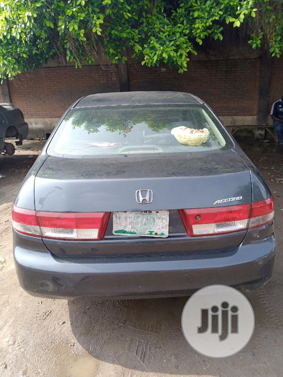 Honda Accord Automatic 2004 Gray
