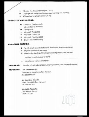 Health Beauty CV | Health & Beauty CVs for sale in Rivers State, Port-Harcourt