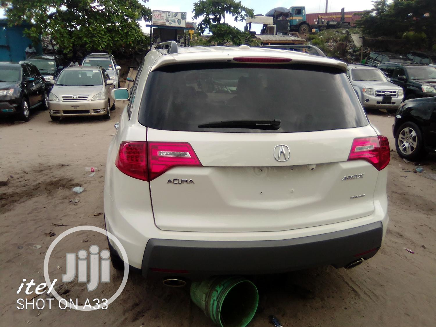 Acura MDX 2007 White | Cars for sale in Apapa, Lagos State, Nigeria
