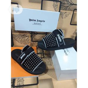 Padded Panelled Slides - Palm Angels (Black) M15   Shoes for sale in Lagos State, Alimosho