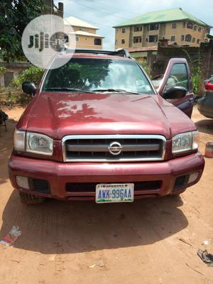 Nissan Pathfinder 2003 LE AWD SUV (3.5L 6cyl 4A) Red | Cars for sale in Anambra State, Awka