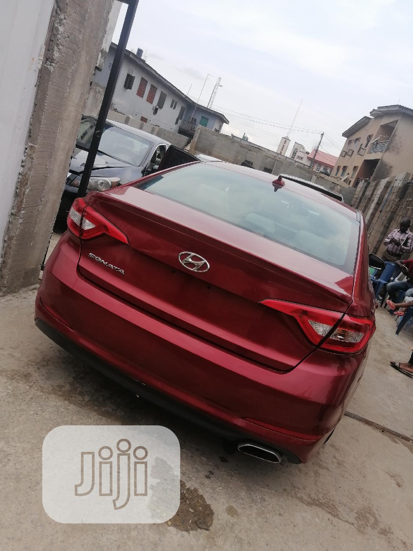 Hyundai Sonata 2016 Red | Cars for sale in Ogba, Lagos State, Nigeria