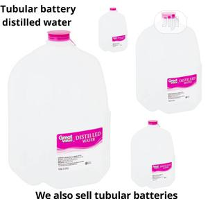 5L Distilled Water For Tubular Batteries | Electrical Equipment for sale in Lagos State, Lekki