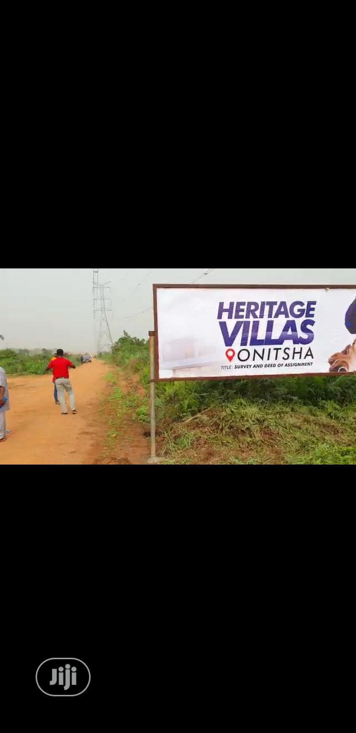 Land for Sale in Obosi Anambra State