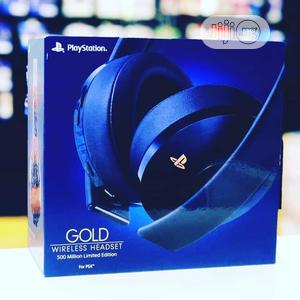 Sony Playstation Gold Wireless Headset 7.1 Surround | Headphones for sale in Lagos State, Ikeja