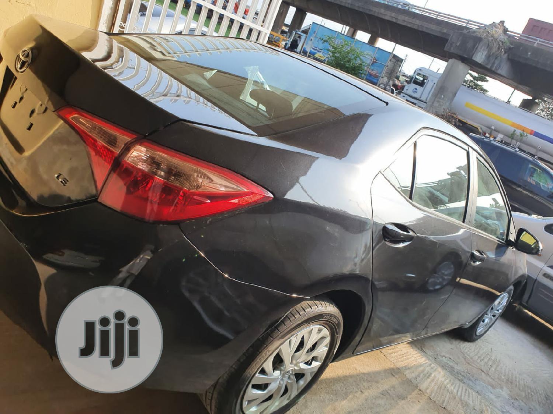 Toyota Corolla 2017 Black | Cars for sale in Surulere, Lagos State, Nigeria