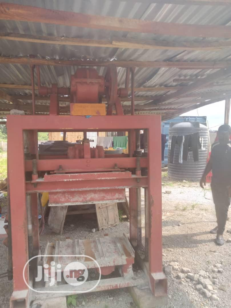 Archive: Chinese Industrial Block Machine For Sale