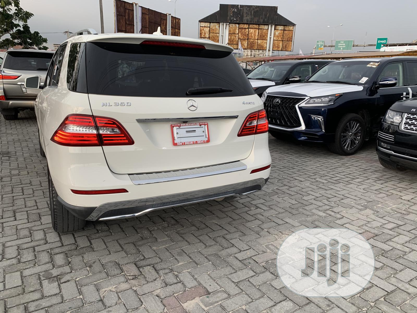 Mercedes-Benz M Class 2012 White | Cars for sale in Lekki, Lagos State, Nigeria