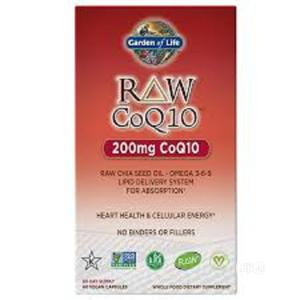 Garden of Life RAW Coq10 With Chia Seed Omega 3-6-9   Vitamins & Supplements for sale in Lagos State, Ipaja