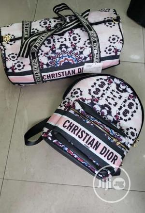 Christian Dior Luxury Backpack N Travelpack Combo   Bags for sale in Lagos State, Lagos Island (Eko)