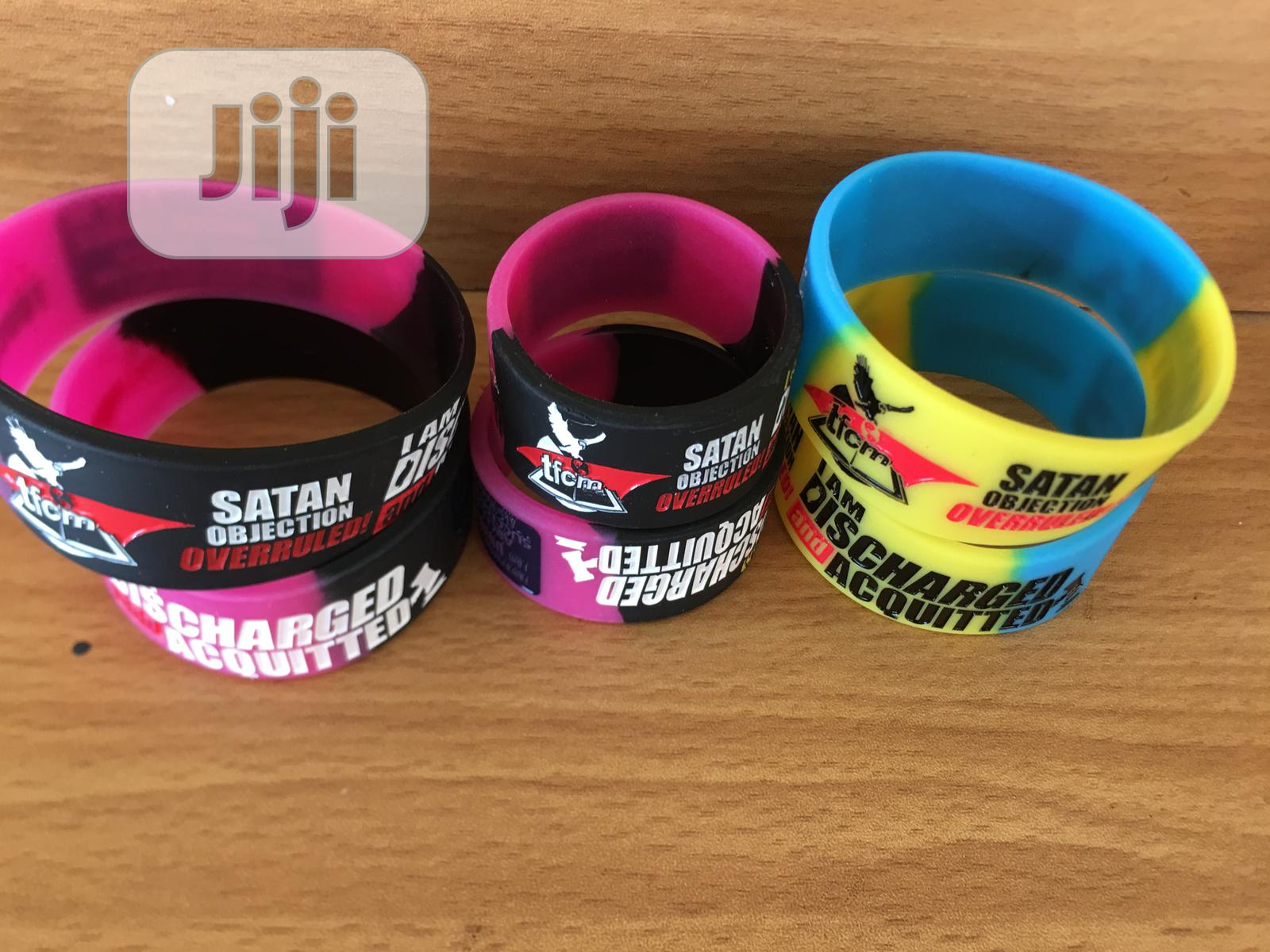 Archive: Glowing Silicone Customized Bracelet