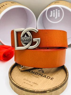 Dolce&Gabbana Leather Belt | Clothing Accessories for sale in Lagos State, Surulere
