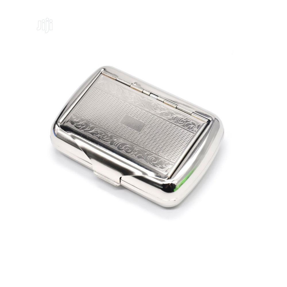 Metal Cigarette Case - Silver