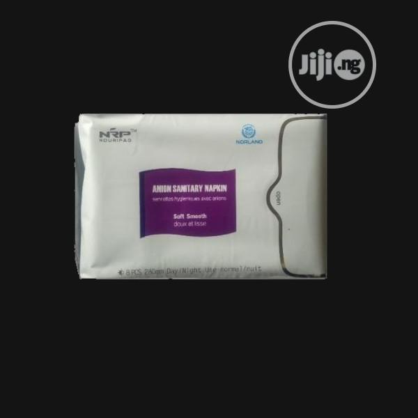 Norland Anion Sanitary Pad - 8 Pieces