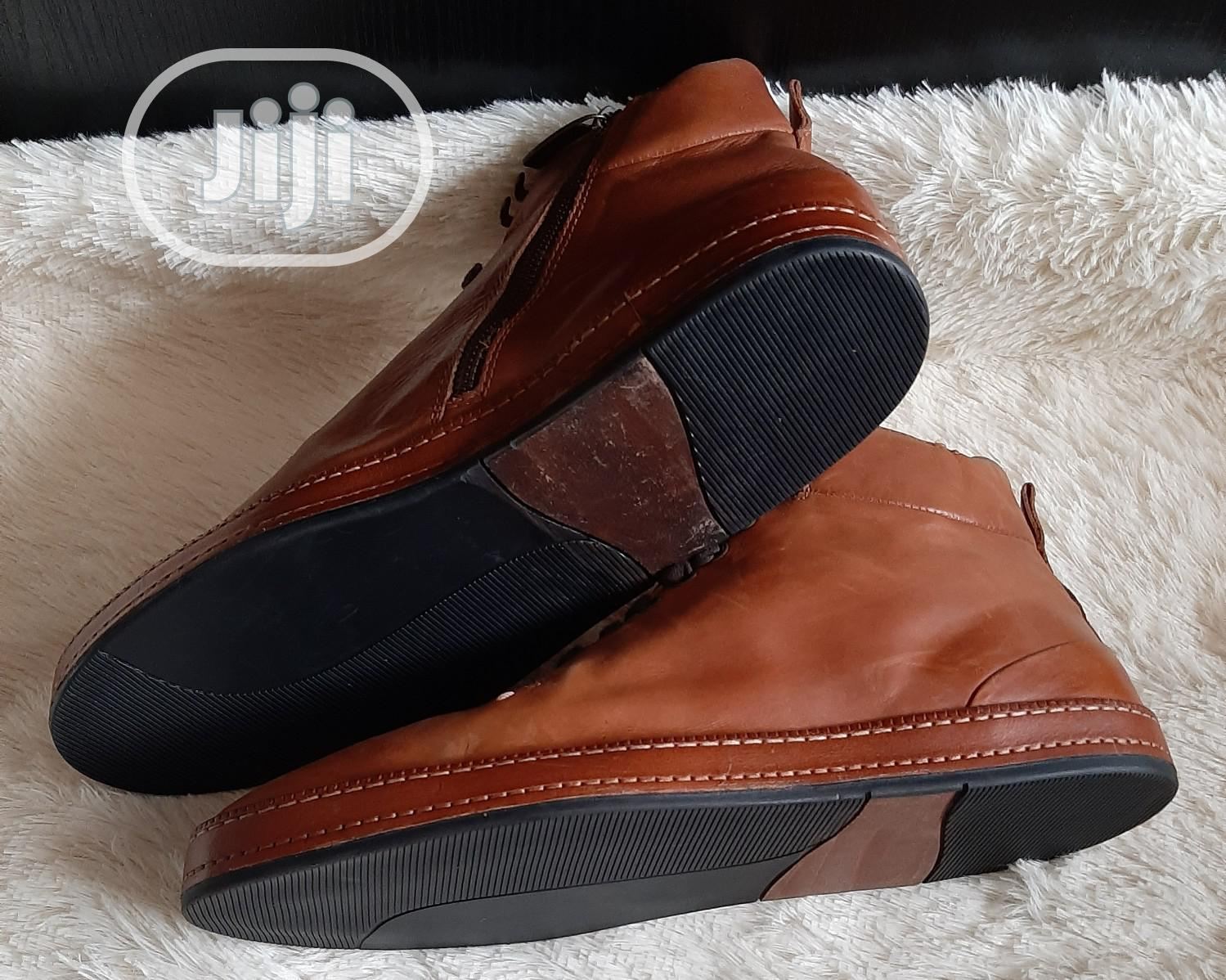 Male Quality Brown Boots | Shoes for sale in Ifako-Ijaiye, Lagos State, Nigeria