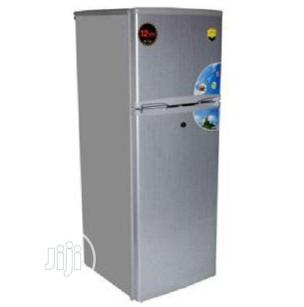 Nexus Double Door 120 Liters Refrigerator Silver-nx-140