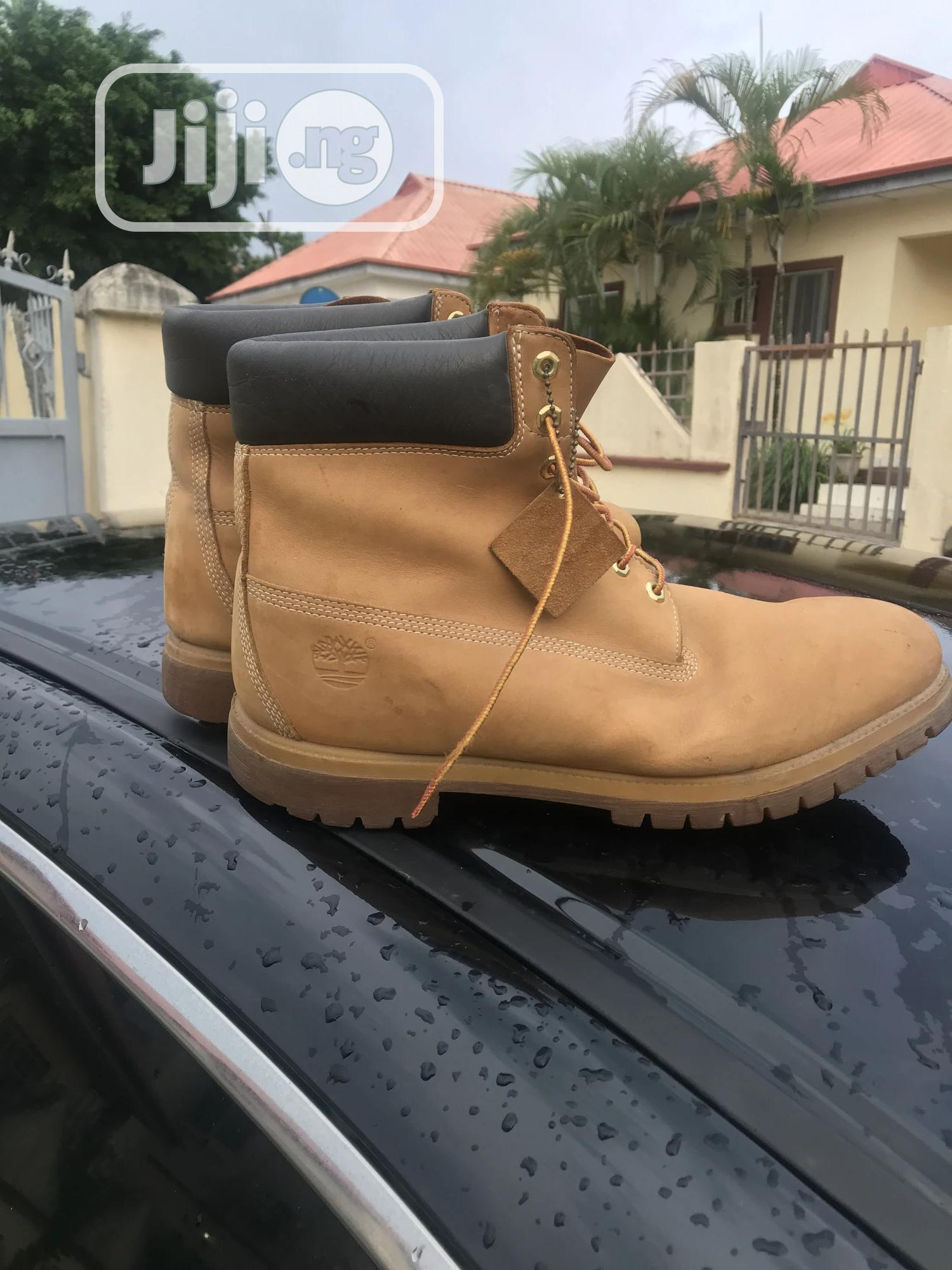 Size 50 Timberland Shoe Us 15 Brown