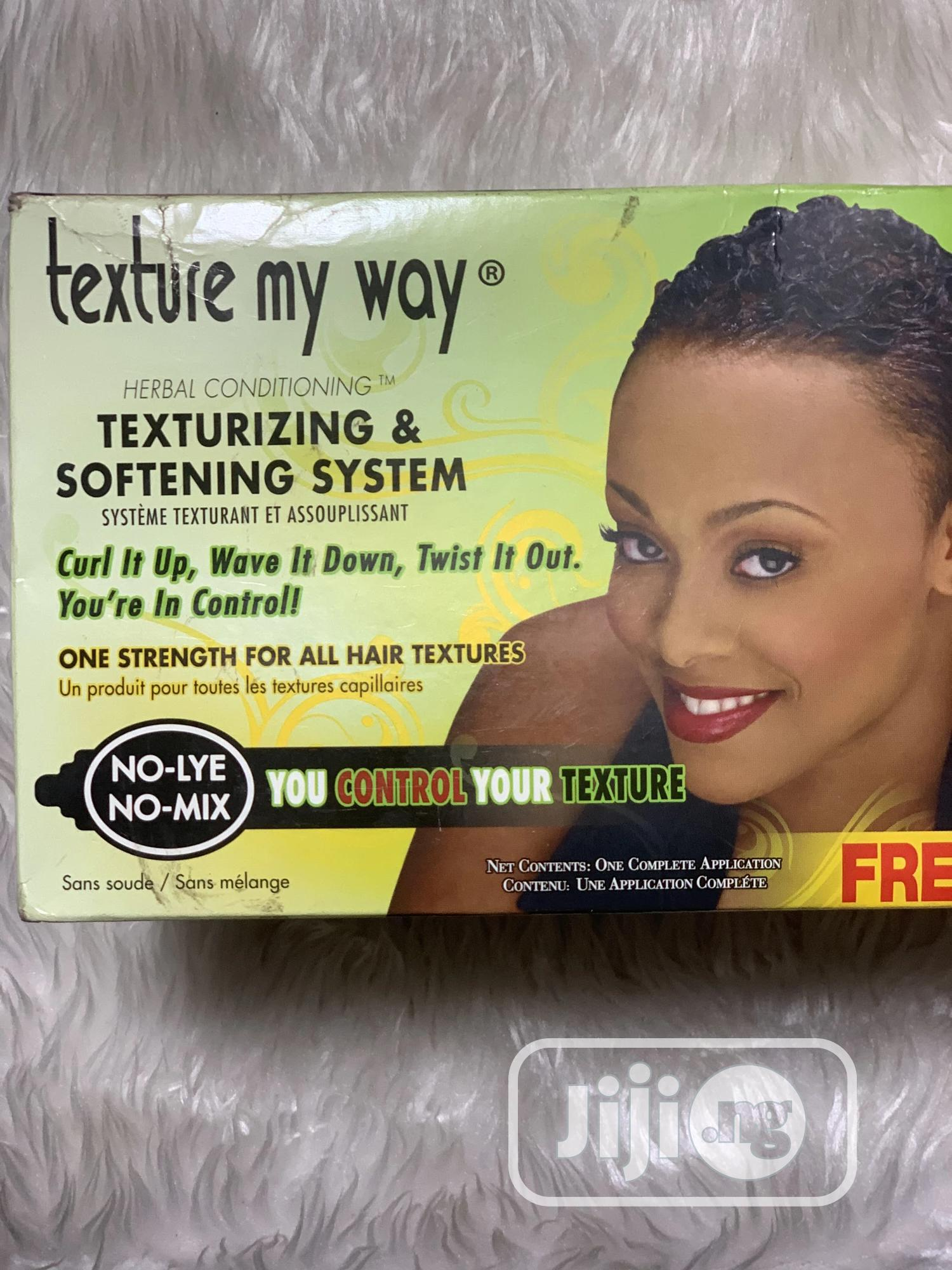 Texture My Way Relaxer | Hair Beauty for sale in Abule Egba, Lagos State, Nigeria