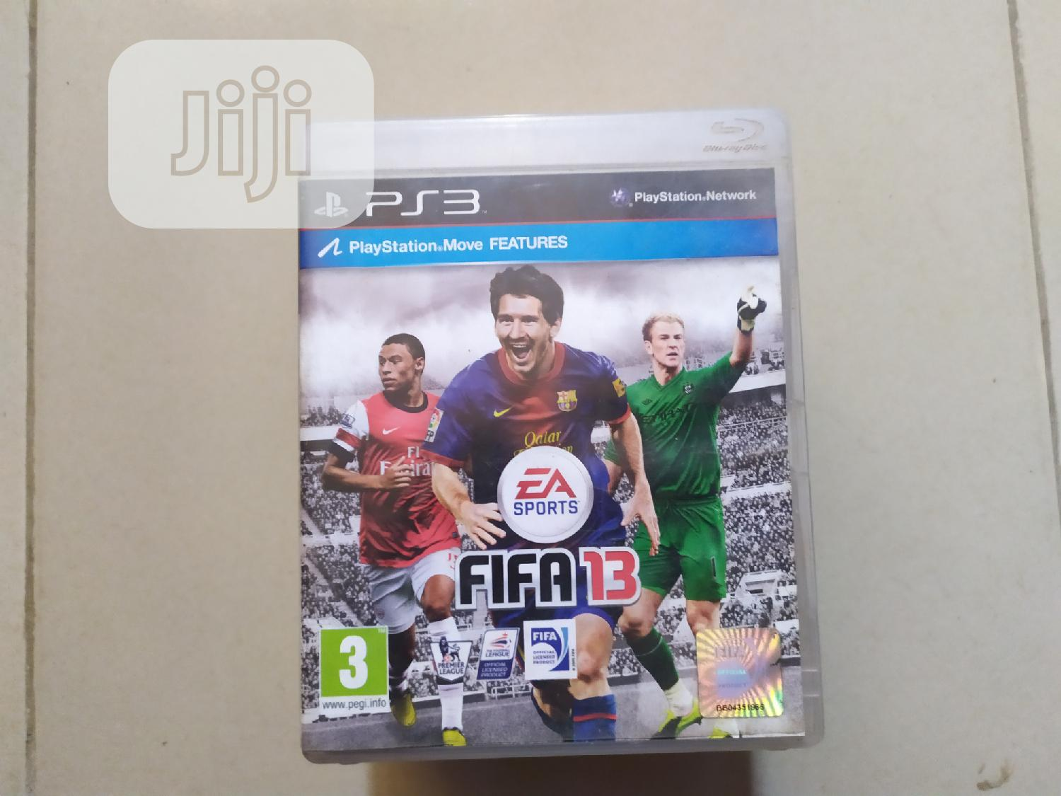 Playstation 3 FIFA 13 Ps3 Game Disc