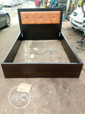 Beautiful 4 By 6 Bed Frame   Furniture for sale in Lagos State, Oshodi