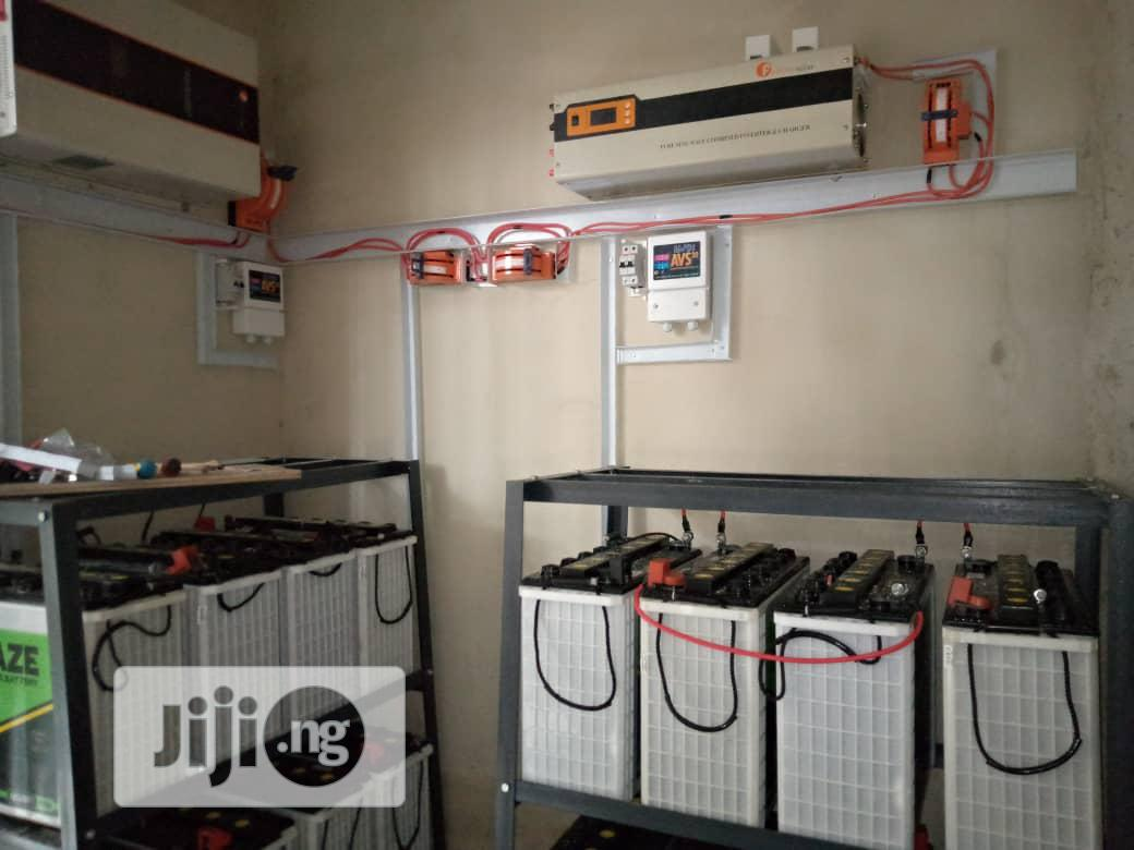 10kva Inverter System With Solar