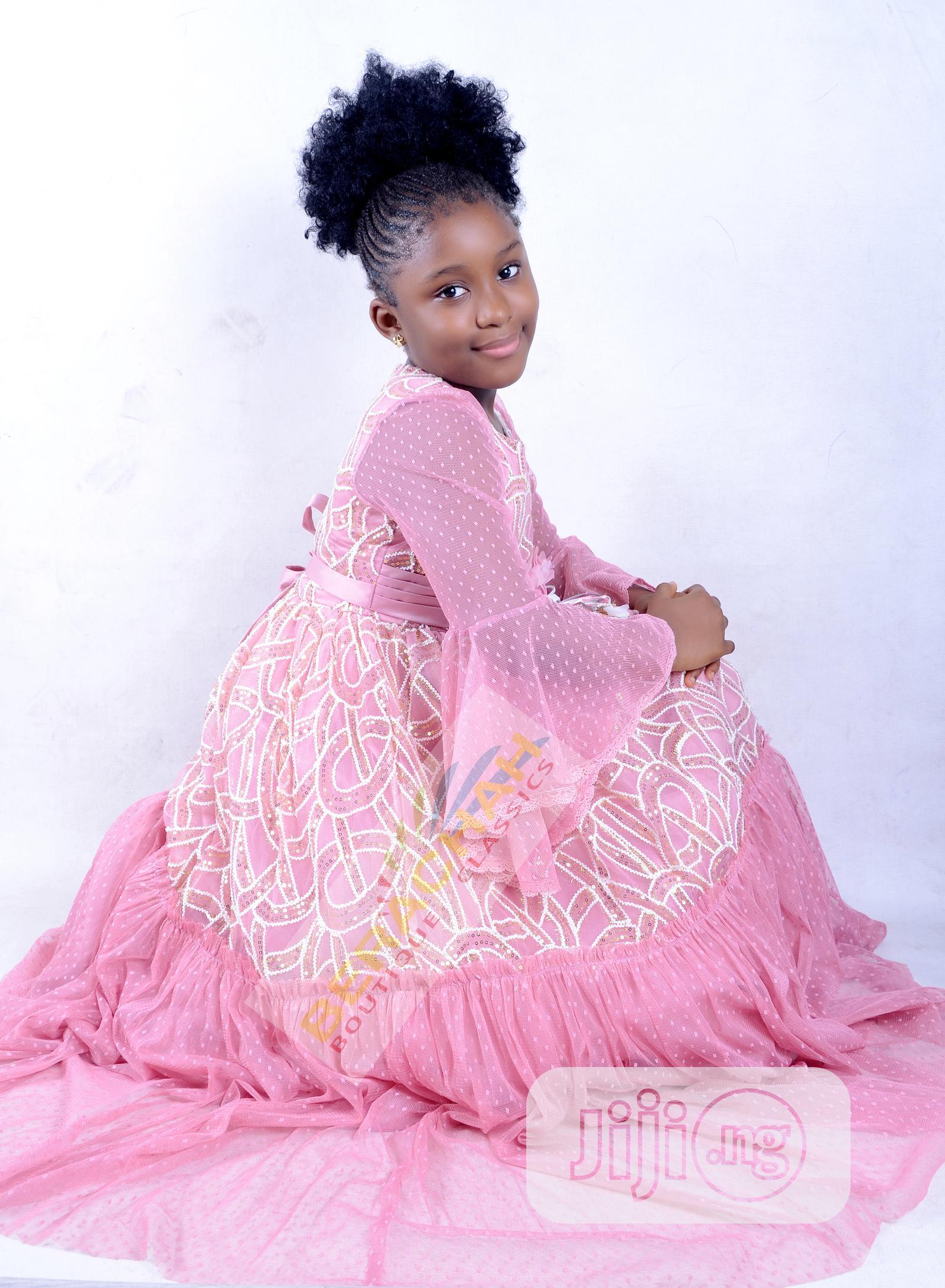 Made in Turkey Girls Ball Dress | Children's Clothing for sale in Gwarinpa, Abuja (FCT) State, Nigeria
