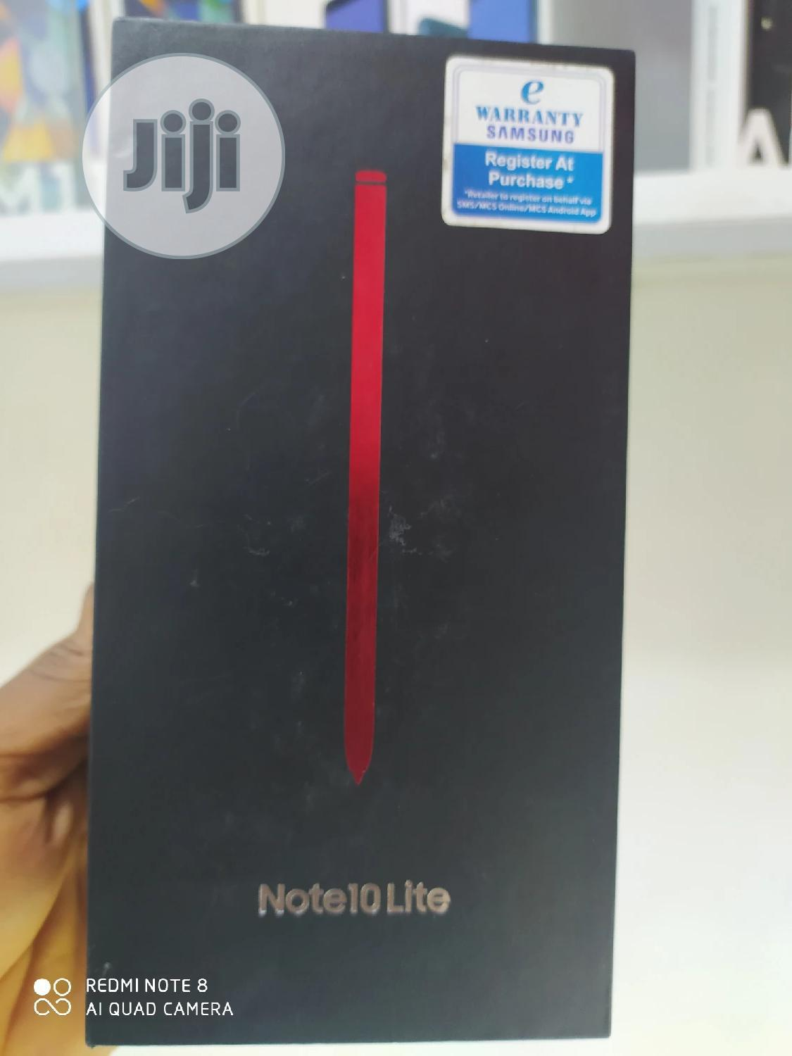 New Samsung Galaxy Note 10 Lite 128 GB Red | Mobile Phones for sale in Ikeja, Lagos State, Nigeria