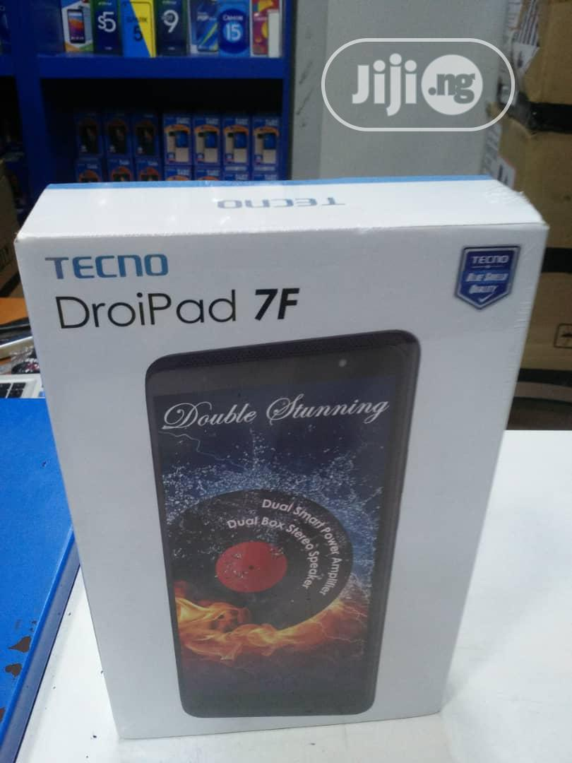 New Tecno DroiPad 7F 16 GB Black