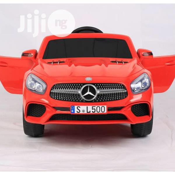 Children Benz In Red