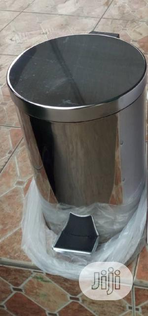Stainless Pedal Waste Bin For Home And Office Use   Home Accessories for sale in Lagos State, Ojo