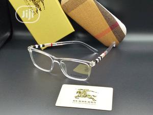Unisex Silver Burberry Transparent Shades Sunglasses | Clothing Accessories for sale in Lagos State, Lagos Island (Eko)