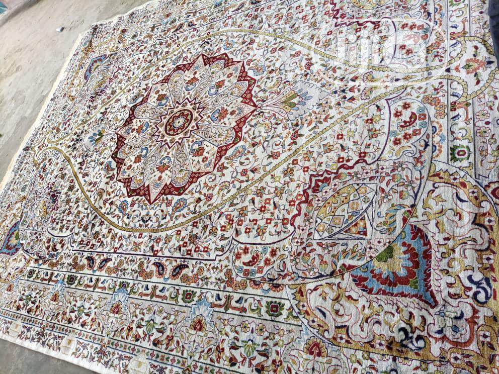 Super Unique 10 By 13 Arabian Center Rug
