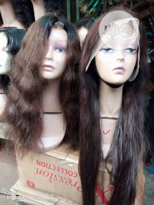 30 Inches Lace Frontal Human Hair Wig   Hair Beauty for sale in Lagos State, Amuwo-Odofin