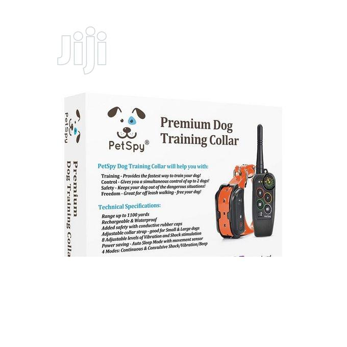 Pet Spy Premium Dog Training Shock Collar For Dogs With Vibr